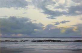 'Purple Longing', 100x150 cm, oil (sold)
