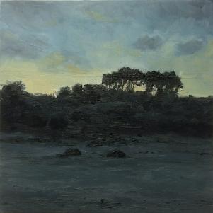 'Dawn', 25x25 cm, oil (sold)