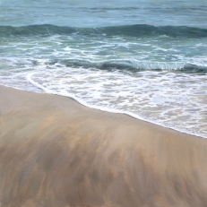'Dreams Of Green', 80x80 cm, oil (sold)