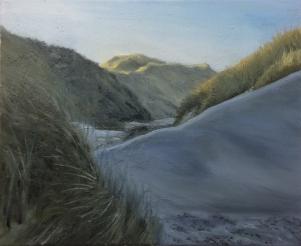 Dunes, 33x41 cm, oil (sold)
