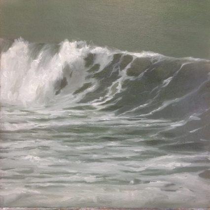 'Green', 40x40 cm, oil (sold)