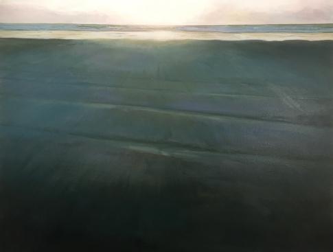 'Infinity', 70x90 cm, oil (sold)