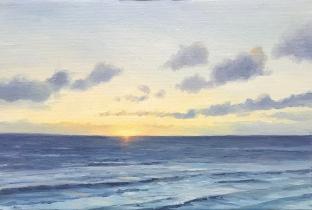 'A Summer's Evening', 20x30 cm ,oil