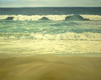 'Already Gone', 80x100 cm, oil (sold)