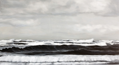 'Awaiting', 100x150 cm, oil (commission)