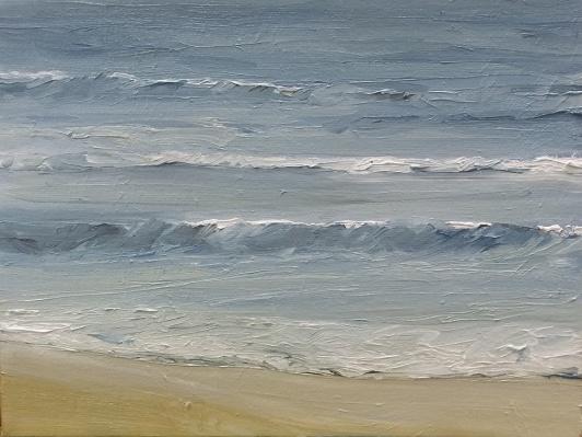 'Calming', 18x24 cm, oil (sold)