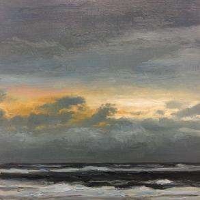'Dawn', 30x30 cm, oil (sold)