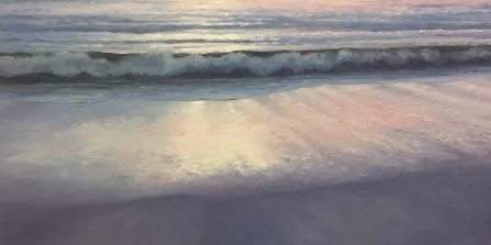 'Dawning', 40x80 cm, oil (sold)