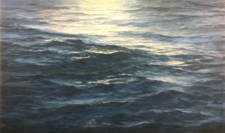 'Departure', 90x150 cm, oil (sold)