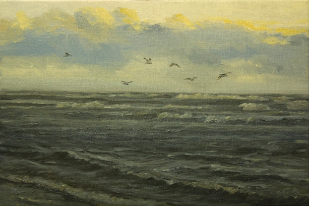 'Duality', 20x30 cm, oil (sold)