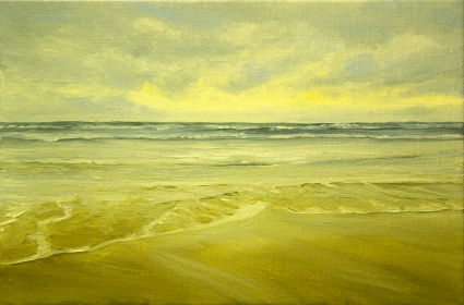 'Lonely Times'20x30 cm, oil (sold)
