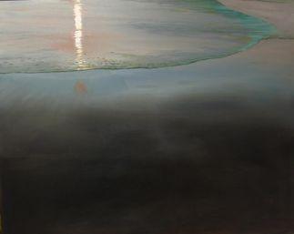 'Mare Tranquilitatis II' - 80x100, olie