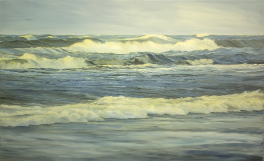 'Mirrored Emotions', 80x130 cm, oil (sold)