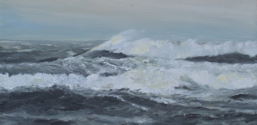 'Momentum' - 15x30, oil