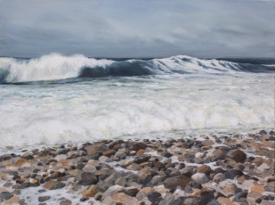 'Not All Waters Are Calm' 80x100 cm, oil (sold)