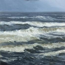 *Nov Demo 01', 30x30 cm , oil (sold)