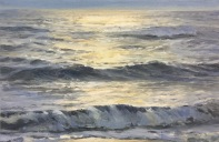 """Ocean Study"", 20x30 cm, oil (sold)"
