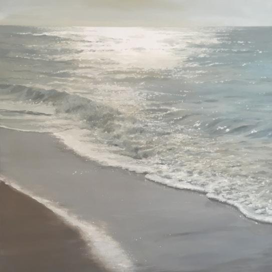 'Path', 80x80 cm, oil (sold)