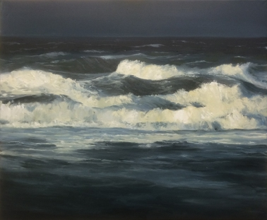 'Perfect Storm', 50x60 cm, oil (sold)