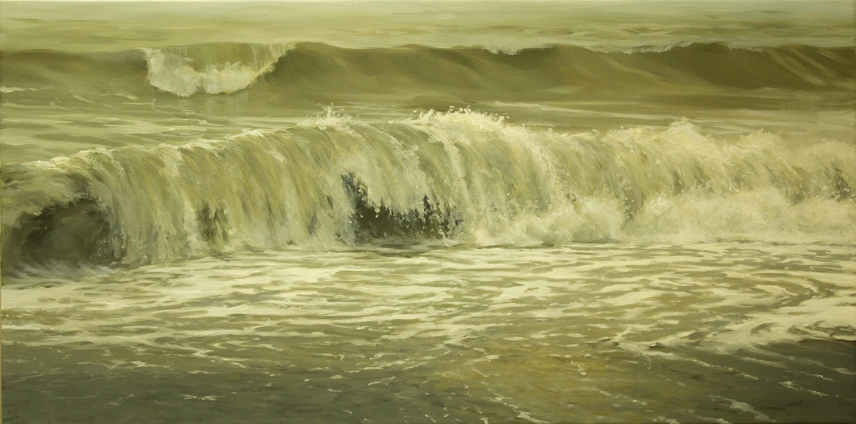 'Quietest Moment', 50x100 cm, oil (sold)