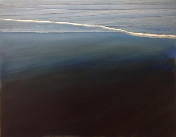 'Return', 80x100 cm, oil (sold)