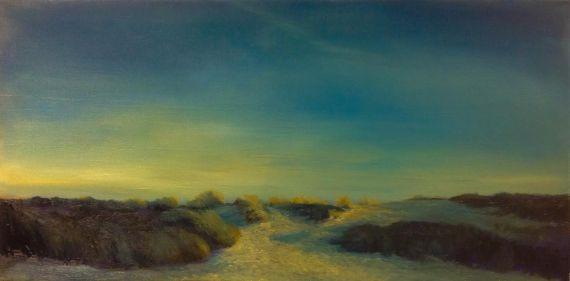 'Returning', 50x100, olie