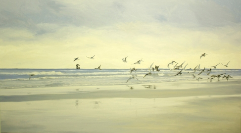'Searching', 100x150 cm, oil (sold)