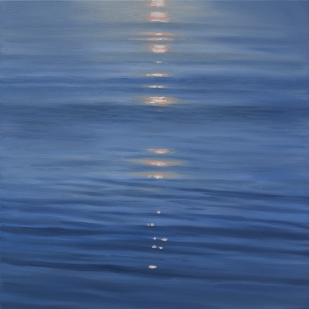 'Silence', 80x80 cm, oil (sold)