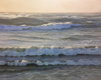'The Air That I Breathe', 80x100 cm, oil (sold)