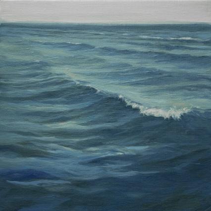 'The Blues', 30x30 cm, oil (sold)