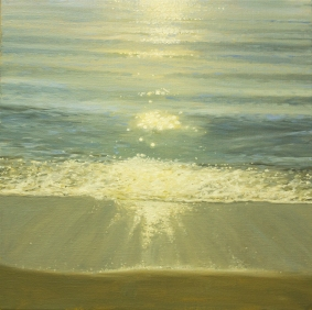 'When Summer Becomes A Distant Memory', 50x50 cm, oil (sold)