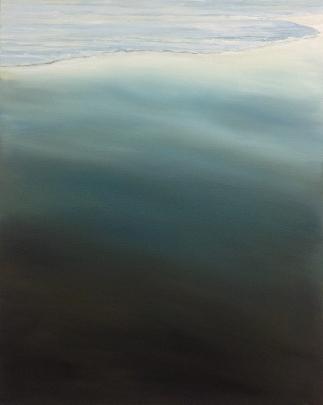 'White Shelf', 80x100 cm, oil (sold)
