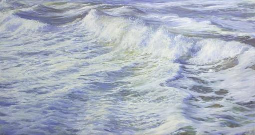'Whites', 80x150 cm, oil (sold)