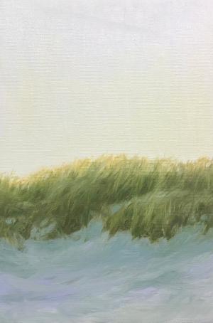 'Lyme Dune', 20x30 cm, oil