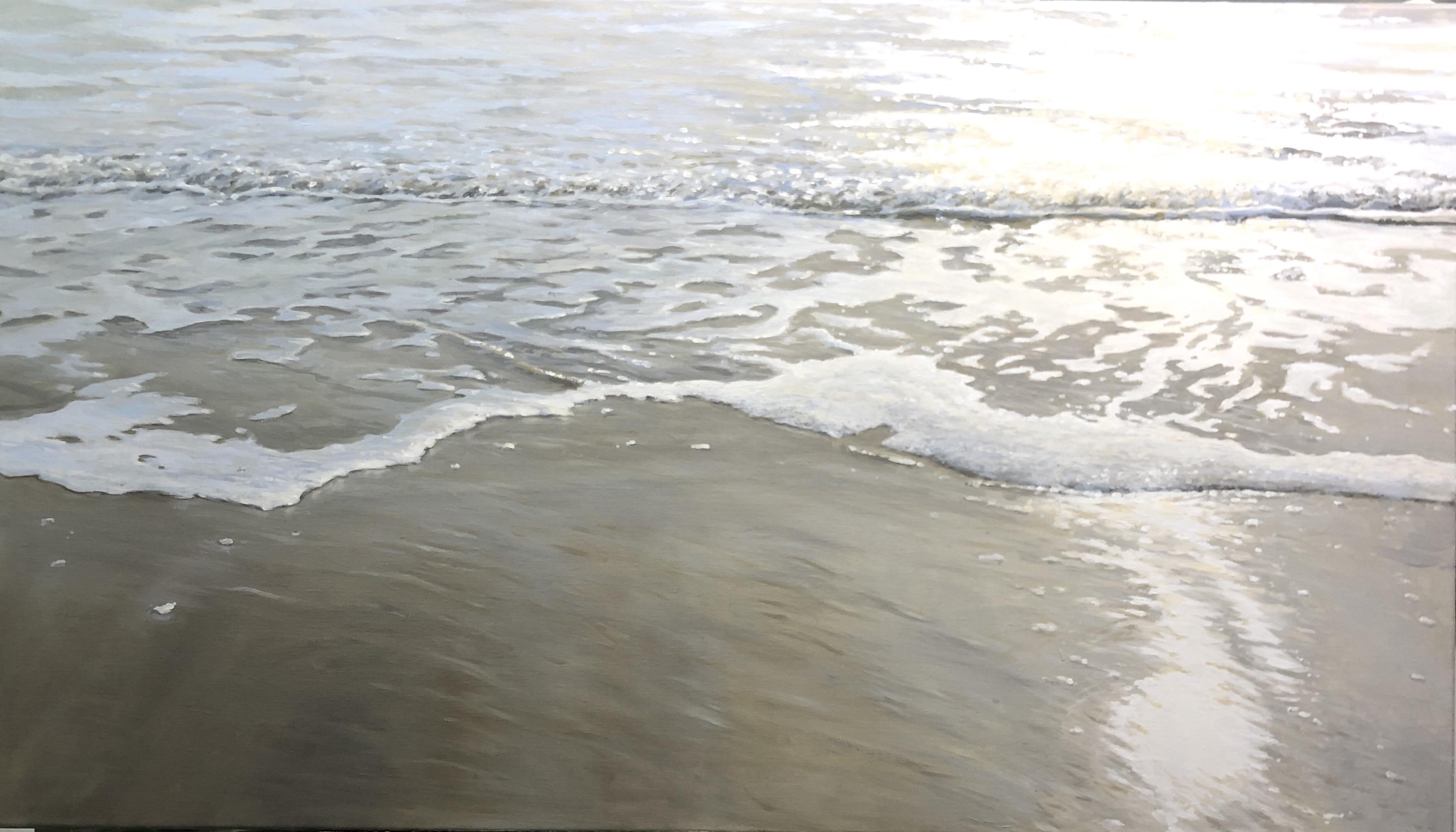 'Silent Blinding' - 80x140 cm, olie