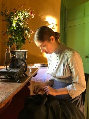 Anna Anchers sypige-motiv, filmet på Greve Museum.